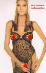 Heidi Klum nackt