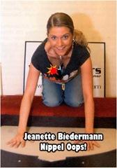 Jeanette Biedermann nackt