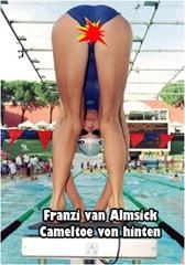 Franzi van Almsick nackt