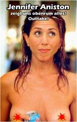 jennifer Aniston nackt oben ohne