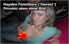 Hayden Panettiere oben ohne