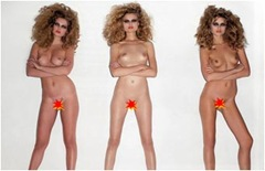 supermodels nackt