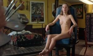 Sofie Grabol Kommissarin Lund nackt
